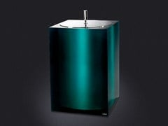 - Resin bathroom waste bin GLOSS | Bathroom waste bin - Vallvé Bathroom Boutique