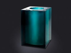 - Resin bathroom waste bin GLOSS | Resin bathroom waste bin - Vallvé Bathroom Boutique
