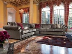 - Corner fabric sofa GOLDEN | Corner sofa - Domingo Salotti