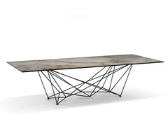 - Rectangular ceramic table GORDON KERAMIK - Cattelan Italia