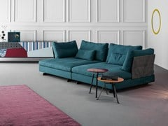 - Upholstered fabric sofa with removable cover GOSSIP | Sofa - Bonaldo