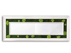 Specchio / quadro vegetale in piante stabilizzateGREENERY MIRRORS   Specchio rettangolare - ADRIANI E ROSSI EDIZIONI