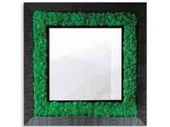 Specchio / quadro vegetale in piante stabilizzateGREENERY MIRRORS   Specchio quadrato - ADRIANI E ROSSI EDIZIONI