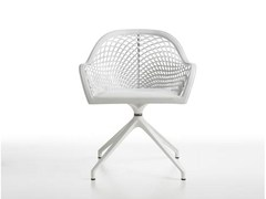 - Trestle-based easy chair GUAPA PX - Midj