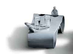 - Low cement garden side table GUHL | Coffee table - SWISSPEARL Italia