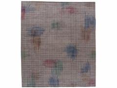 - Handmade rectangular rug HALO DARK - Golran