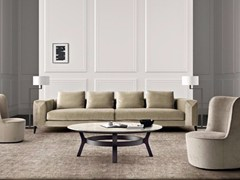 - 4 seater sofa with removable cover HAMPTONS | 4 seater sofa - Casamilano