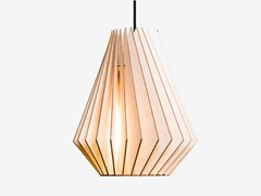 - Plywood pendant lamp HEKTOR L - IUMI