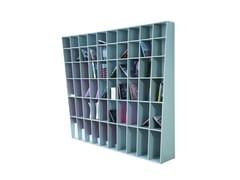 - Open lacquered MDF bookcase HELIS | Bookcase - ROCHE BOBOIS