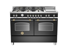 - Professional cooker HERITAGE - HER120 6G MFE D - Bertazzoni