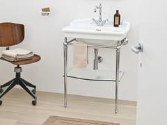Lavabo a consolle con porta asciugamaniHERMITAGE | Lavabo a consolle - ARTCERAM