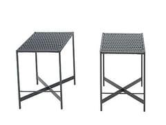 - High fabric garden stool HERON | High stool - Paola Lenti
