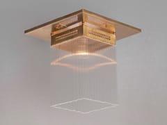 - Lampada da soffitto a luce diretta fatta a mano in ottone HOFFMANN I | Lampada da soffitto - Patinas Lighting