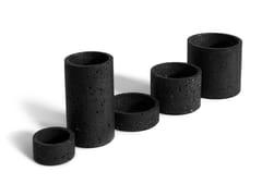Vaso / contenitore in pietra lavicaHOLD | Vaso - BUZAO