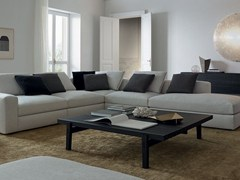 - Low square wood veneer coffee table HOME HOTEL | Square coffee table - Poliform