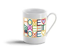 - Porcelain espresso cup HOME SWEET HOME MUG - Vitra