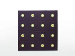 - Square felt rug with geometric shapes HOOP | Square rug - Paola Lenti