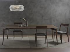 - Rectangular solid wood table HOPE | Rectangular table - Pacini & Cappellini