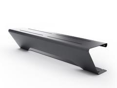 - Panchina in acciaio senza schienale HORIZON | Panchina senza schienale - LAB23