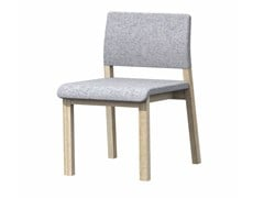 - Upholstered fabric chair HOST - Z-Editions