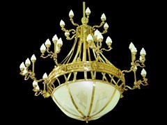 - Lampada a sospensione a luce diretta fatta a mano in ottone HOTEL II | Lampada a sospensione - Patinas Lighting