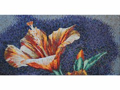 - Stained glass mosaic IBISCUS A - FRIUL MOSAIC