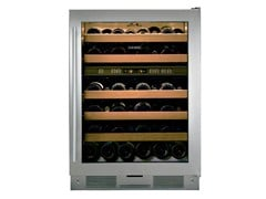 - Freestanding upright stainless steel wine cooler with glass door Class E ICB424FSG | Wine cooler - Sub-Zero Group