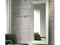 - Framed mirror ICEBERG | Rectangular mirror - RIFLESSI