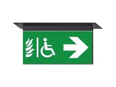 - LED ceiling-mounted PETG emergency light IKUS 2211-M - DAISALUX