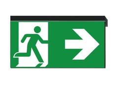 - LED PETG emergency light for signage IKUS-P - DAISALUX