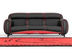 - Upholstered 3 seater leather sofa IMOLA LEATHER | Sofa - Tonino Lamborghini Casa