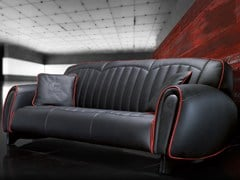 - Upholstered 3 seater leather sofa IMOLA S | Sofa - Tonino Lamborghini Casa