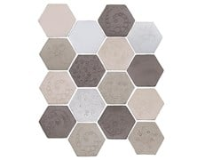 - Indoor faïence wall tiles IMPRESSIONI MIX PACK.5 - DANILO RAMAZZOTTI ITALIAN HOUSE FLOOR