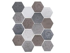 - Indoor faïence wall tiles IMPRESSIONI MIX PACK.6 - DANILO RAMAZZOTTI ITALIAN HOUSE FLOOR
