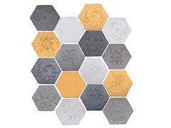 - Indoor faïence wall tiles IMPRESSIONI MIX PACK.7 - DANILO RAMAZZOTTI ITALIAN HOUSE FLOOR
