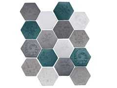 - Indoor faïence wall tiles IMPRESSIONI MIX PACK.8 - DANILO RAMAZZOTTI ITALIAN HOUSE FLOOR