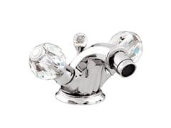 - 1 hole bidet tap with Swarovski® crystals INDICA | 1 hole bidet tap - Bronces Mestre