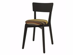 - Upholstered stackable fabric chair INGRID 03 ST - Z-Editions