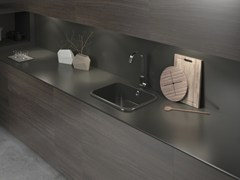 TOP CUCINA / LAVELLO IN SILESTONE® INTEGRITY TOP - COSENTINO