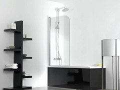 Parete per vasca in vetroINTER 2B - SYSTEMPOOL KRION® PORCELANOSA SOLID SURFACE
