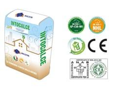 Bio-intonaco eco-compatibile idrofugoINTOCALCE I - MALVIN