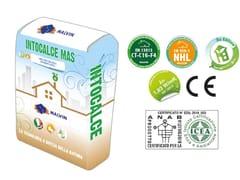 Bio-massetto eco-compatibile premiscelatoINTOCALCE MAS - MALVIN