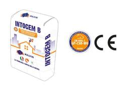 Intonaco premiscelato a base di calce naturale e cementoINTOCEM B - MALVIN
