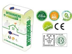 Bio-intonaco eco-compatibileINTOSUGHERO - MALVIN