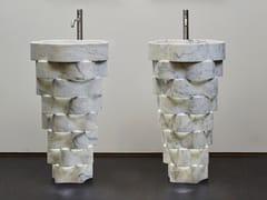 Lavabo freestanding in marmoINTRECCIO - ANTONIO LUPI DESIGN®