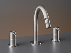 - Three-hole mixer with adjustable spout INV 44 - Ceadesign S.r.l. s.u.
