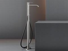 - Free-standing mixer for bathtub with hand shower INV 61 - Ceadesign S.r.l. s.u.