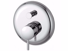 - Wall-mounted single handle bathtub mixer with diverter IQ - A4829 - Ideal Standard Italia