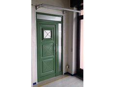 - Glass and aluminium armoured door panel IRIS/K1 - ROYAL PAT