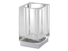 - Countertop glass toothbrush holder ISIDO | Countertop toothbrush holder - LINEAG